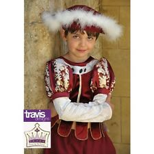 New Historical Tudor Boy complete fancy dress with hat by Travis Designs