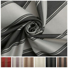 Designer Jacquard Stripe Fire Retardant Designer Soft Furnishing Curtain Fabric