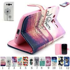 Leather Wallet Case Cover flip case For Samsung Galaxy Grand Neo I9060 i9082