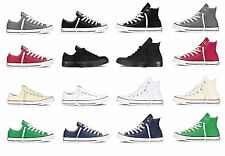 CONVERSE Chuck Taylor All Star Low Hi Top Shoes Unisex Canvas Sneakers