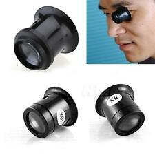 1Pc 5x/10x Watch Jewellery Magnifier Loupe Eye Len Eyepiece Repair Kit Tool HIYG
