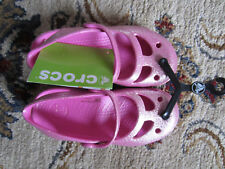 NWT Crocs Shayna Glitter Sandals Mary Jane shoes Girls : C 9,10,11,12