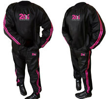 2Fit Sweat Sauna Suit HDuety Gym Training Track Suit Unisex Slimming Weight Loss