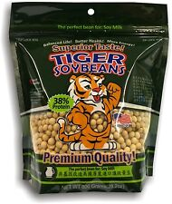 Tiger Soybeans - Non GMO Soybeans. The perfect bean for Soy Milk!