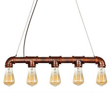 Retro Pendant Lamp Ceiling Light Chandelier Metal Edison Lighting Decor Fixture