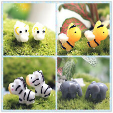 Hot Micro World Small Animal Home Garden Decor landscape Ornaments Pots Toys #5