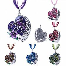 Jewelry Love Heart Flower Butterfly Necklace Pendant Chain Charm Women's Fashion
