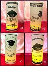 Personalized Graduation Luminaries Table Centerpieces Decorations Party Reunion