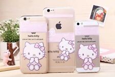 Hot Sisters Hello Kitty TPU Case For iPhone 6 Plus/4.7/5G 5S +Gift