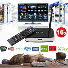 CS918 Quad Core Android 4.4 Smart TV Box Player XBMC HDMI WiFi 1080P 2GB 16GB