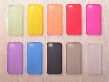 Ultra Thin 0.3 MM Slim Clear Matte Soft Cover for iPhone 4/4s, 5c 5/5s back case