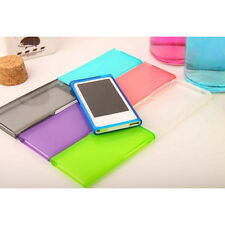 Candy Color Soft TPU Transparent Cover Case for iPod Nano 7 7G 7th generation