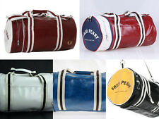 SEPCIAL OFFER Genuine Fred Perry Spacious Gym Barrel Carry Shoulder Bags RRP£70