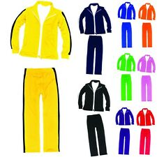 Mens Womens Running jogging Track Suit warm up pants jackets gym training wear J