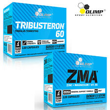 Tribusteron 60 + ZMA 30/180Caps Testosterone Booster Zinc Magnesium Vitamin BEST