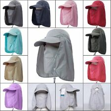 HOT Man Women Camping Hiking Fishing Outdoor UV protection Neck Flap Hat Cap