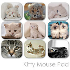CATS KITTY CUSTOM MOUSE PAD FRIENDS PERSONALIZED PHOTO FAMILY MOUSEPAD  (CM-01)