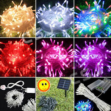 Waterproof LED Fairy String Lights Garden Lawn Tree Wedding Party Indoor/Outdoor