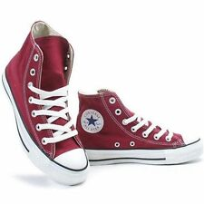 CONVERSE CHUCK TAYLOR AS CORE HI Maroon Burgundy M9613 All Star Men Women