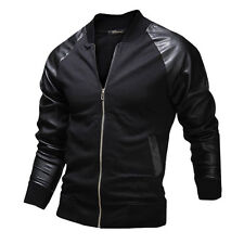 Fashion City For Man Men's Tops Letterman Baseball Jacket Overcoat Short Coats