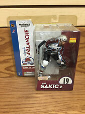 JOE SAKIC 2 Colorado Avalanche NHL Series 9 McFarlane Action Figure