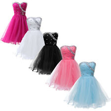 5CLR Sweetheart Junior Prom Graduation Pageant Cocktail Short Party Gown Dresses