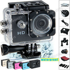New SJ4000 Waterproof Camera HD 720P Helmet Car Cam Camcorder Sports DV