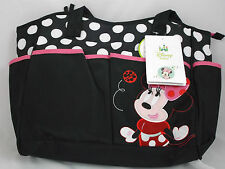 Disney Diaper Bags-Minnie the Mouse & Lady Bug Baby Bag