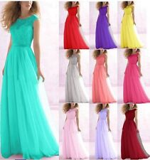 New Chiffon Evening Formal Party Ball Gown Prom Bridesmaid Dress 6 -18