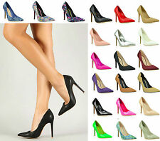 Women Fashion Sexy Party Pointy Toe Dress Casual High Heel Stiletto Pumps Shoes