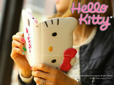 For iPhone 6 / plus (4.7,5.5 inch) - HELLO KITTY LEATHER WALLET FLIP POUCH CASE