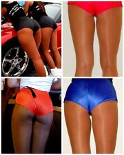 Dolfin Logo Shorts Silky Running Workout hooters uniform Holiday costume sexy