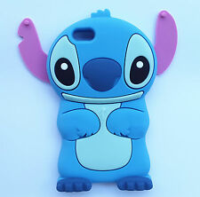 3D Cute Lovely Cartoon Stitch Soft Silicone Cover Case Skin For Mobile Phones