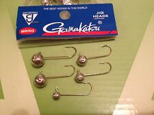 10 Mikro Jig Heads GAMAKATSU HOOKS For Soft Body Lures Choose From  SIZES