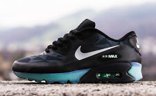 NIKE AIR MAX 90 ICE QS BLACK COOL GREY ANTHRACITE BLACK BLUE HYPERFUSE DS 8 9 10