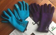 New Womens Spyder Core Sweater Conduct Gloves with Touch fabric - Riviera