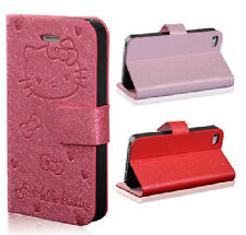 Hello Kitty PU Leather Case Cover For Samsung Galaxy S4 IV i9500 / i9505