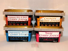 2x Goldfish - Thai, Japanese & Chinese Style Concentrate Curry Sauce Paste 405g