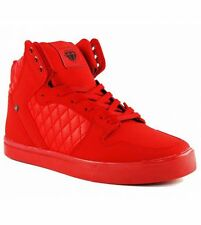 CASH MONEY Schuhe PU Rot Jailor Full Red Mid Top Sneaker