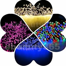 60 LED Solar Power Fairy Light String Lamp Party Christmas Xmas Decor Outdoor
