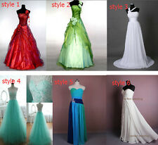 6 Style In Stock Wedding Dresses Bridal Gown Deb Size 6.8.10.12.14.16