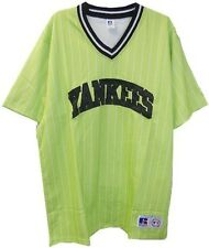 New York Yankees MLB Licensed Lime Green Men's Fashion Jersey Adult Size XL