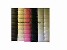 LEATHER DIAMANTE HEADBOARD FROM £9.89 FREE P&P AVAILABLE IN 5 COLORS + 6 SIZES