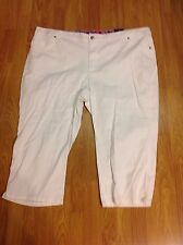 NWT Basic Editions Classic Fit Capri Various Sizes