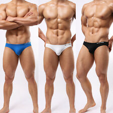 New Men's Sexy Swim Briefs Swimwear Swimsuit Beachwear S-L White Underwear
