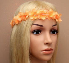 Ladies Floral Flower Festival Wedding Garland Forehead Hair Head Brow Band Lei