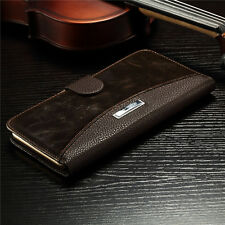 Magnetic Flip Luxury Genuine Leather Stand Case Cover For Apple iPhone 6/6 Plus