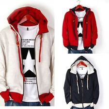 Hot Men's Casual Fashion Slim Fit Sexy Designed Hoodies Sweats Jackets Coats ddd