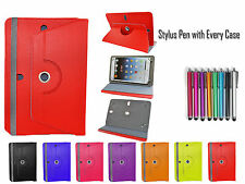 """360° Rotate Universal Leather Folio Stand Case Cover For All 8"""" iPad Tablets PC"""