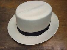 Dobbs Optimo Shantung Mens Straw Summer Hats Color Natural New with Tags